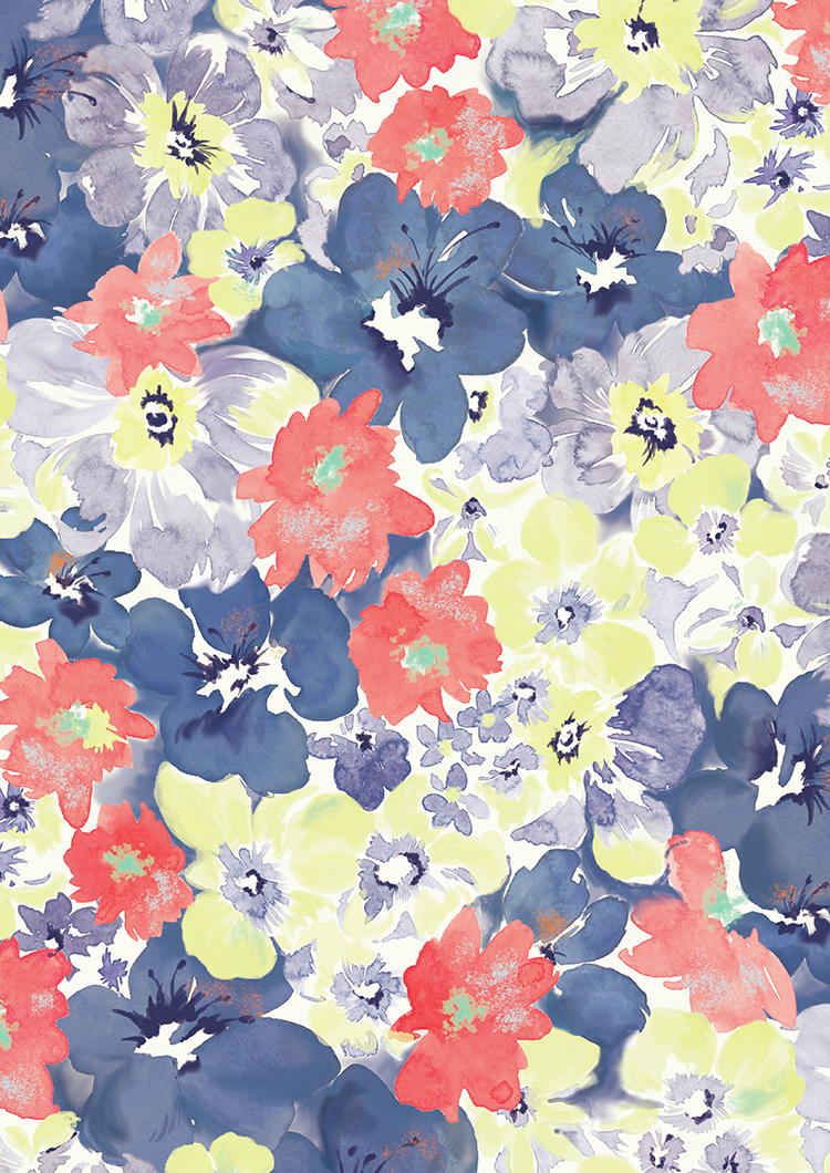 "Fedele ""Reine Series"" Flower Pattern"