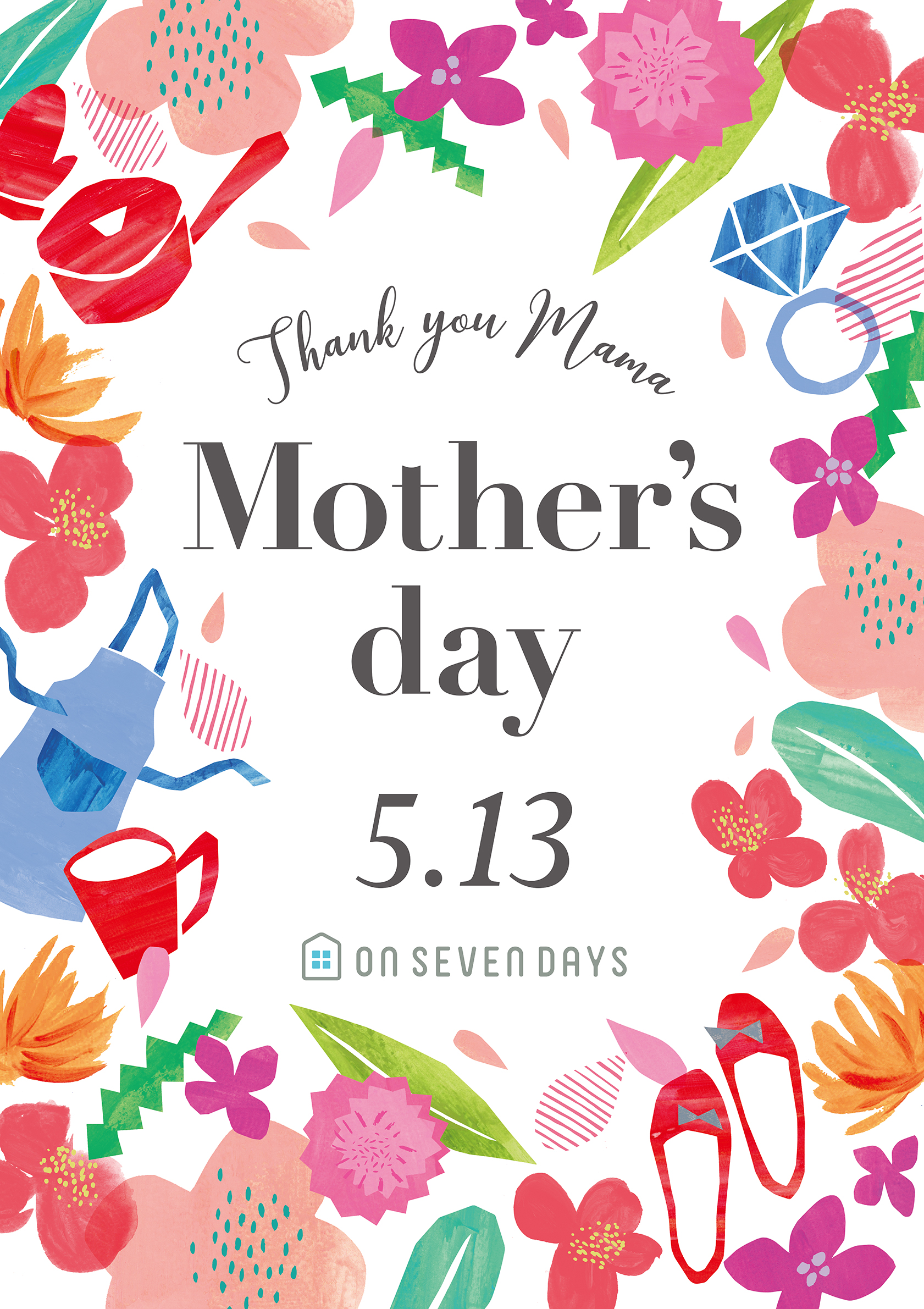 "ON SEVEN DAYS <br>""Mother's day"""